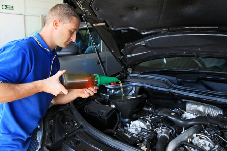 What is included in a car service?